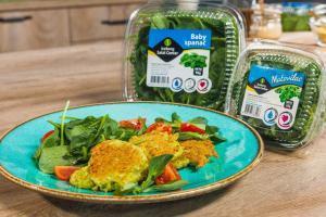 faširane šnicle, predjelo, brz i jeftin ručak, brz obrok, brz ručak, recept, baby spanać, pljeskavice, pileće meso, Iceberg Salat Centar
