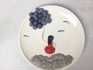 čia semenke-čia puding-čia puding sa borovnicama-super hrana-superhrana-zdravlje-zdravo-recept-doručak-obrok-užina-Iceberg Salat Centar-borovnice