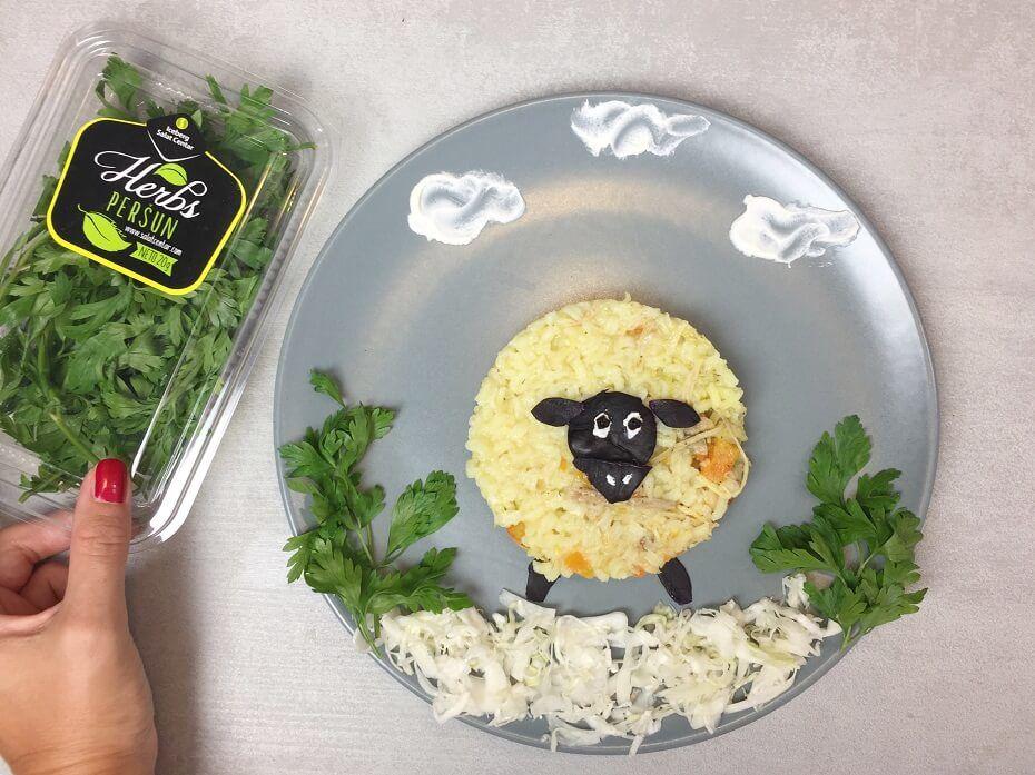 pileći pilav-pilav-pirinač-ručak-jelo-obrok-recept-Iceberg Salat Centar