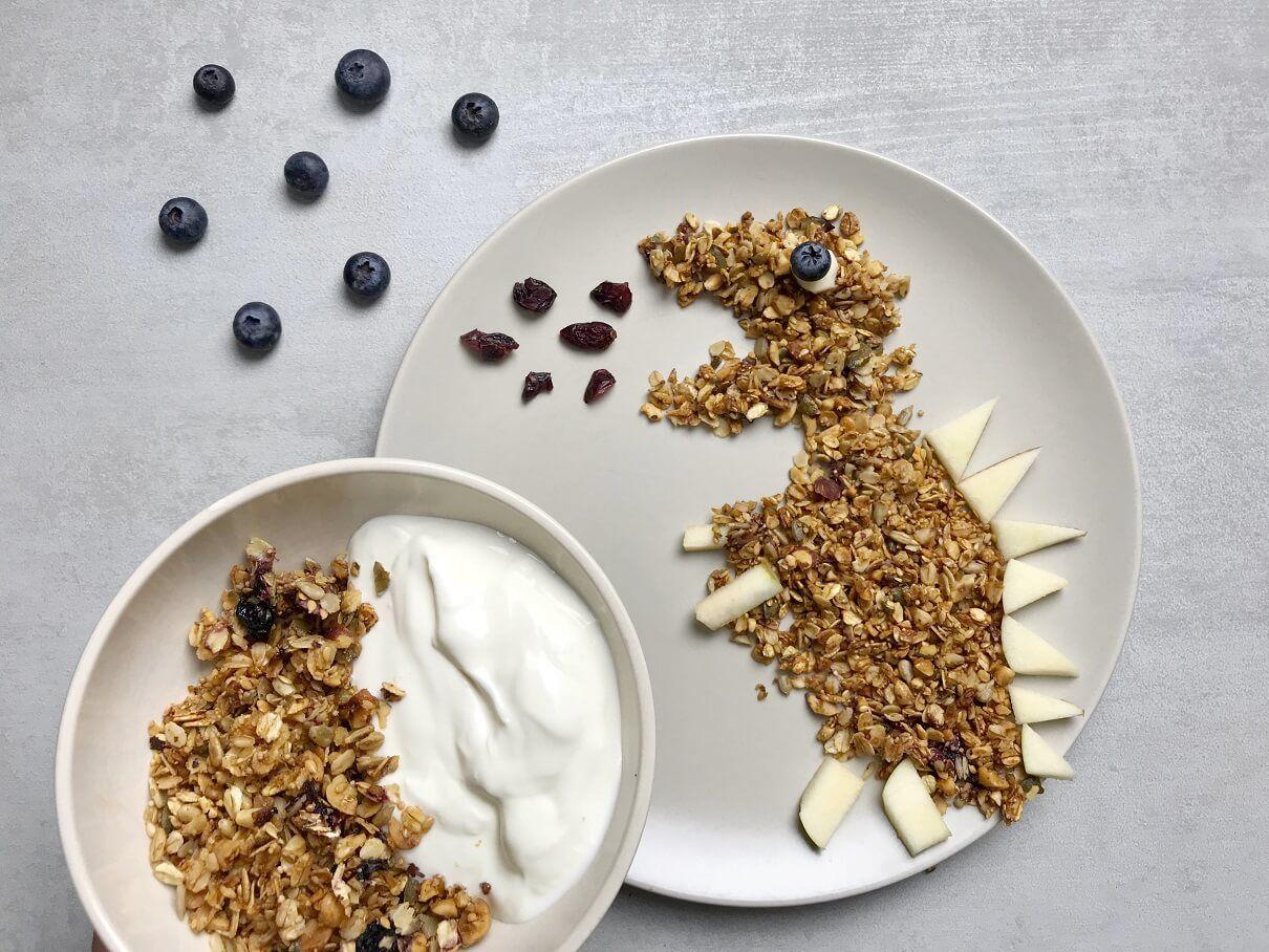 granola-domaća granola-musli-domaći musli-doručak-jogurt-semenke-domaća granola sa semenkama-lešnik-koštunjavo voće-voće-užina-recept-jelo-obrok-Iceberg Salat Centar