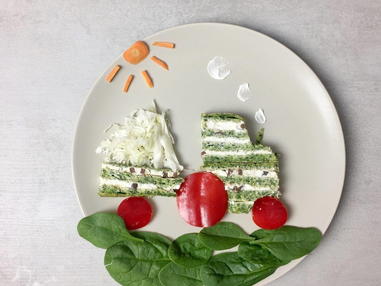 slana torta-slavsko predjelo-slana torta sa spanaćem-predjelo-kanapei-zalogajčići-recept-baby spanać-jelo-klub zdravih navika-iceberg salat centar