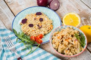 Proteinska obrok salata sa pirinčem