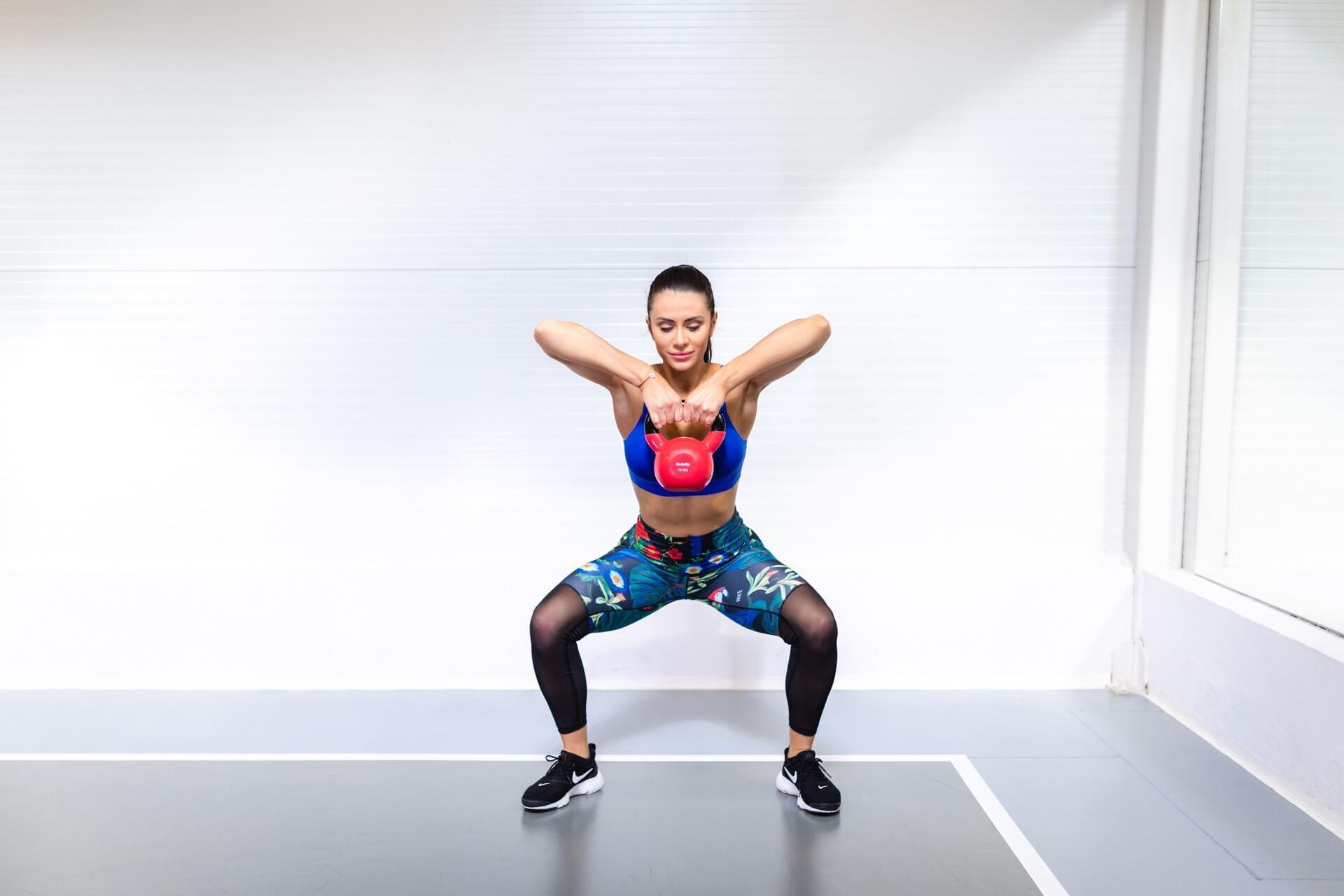 Janka Budimir, kardio trening