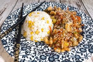 azijska piletina sa povrcem