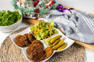 falafel, pečeni falafel, falalfeli
