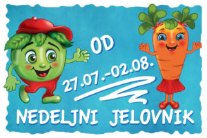 nedeljni jelovnik, meni, ishrana kod dece, ishrana za decu, zdravo, doručak, ručak, večera, Iceberg Salat Centar