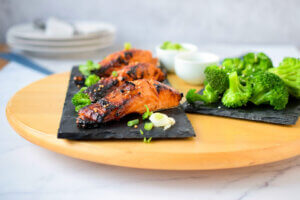 miso, klub zdravih navika, kzn, miso klub zdravih navika, miso kzn, pasta sa lososom, losos i brokoli, slano, zdravo, riba, vecera, Iceberg Salat Centar