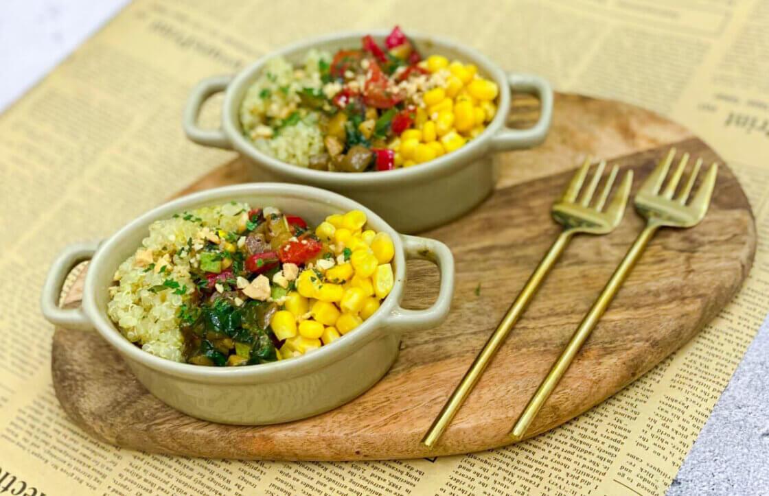 zdrav obrok, klub zdravih navika, kzn, zdrav obrok klub zdravih navika, zdrav obrok kzn, letnji obrok, obrok sa kinoom, obrok sa povrćem, slano, rucak, dijetalno, Iceberg Salat Centar