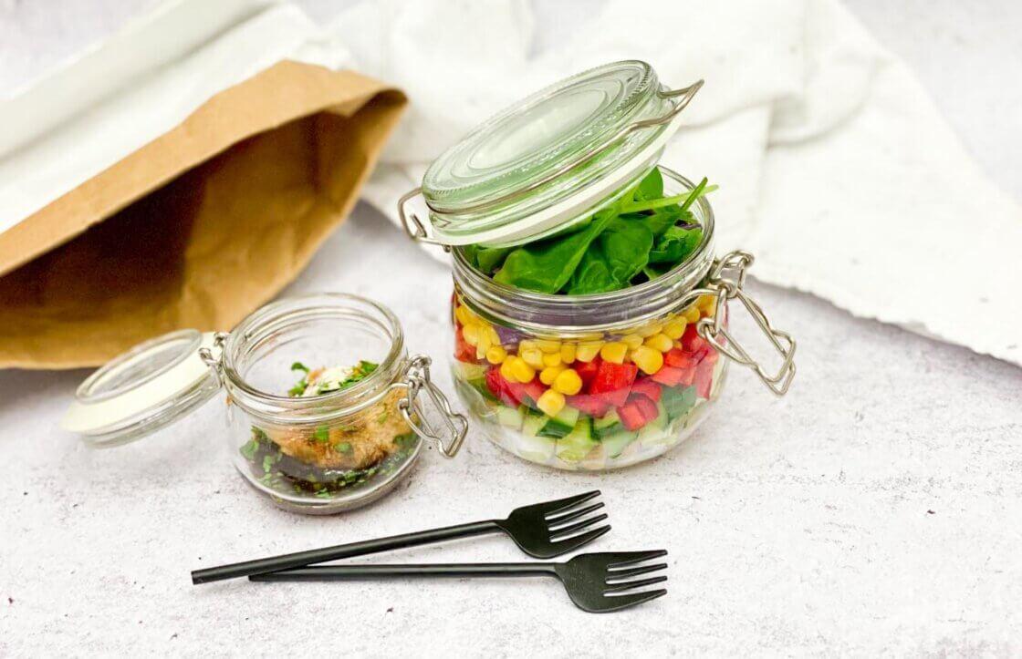 zdrav ručak, klub zdravih navika, kzn, zdrav ručak klub zdraviih navika, zdrav ručak kzn, zdrav obrok, zdravo jelo, jelo iz tegle, obrok iz tegle, tegla obrok, teglica obrok, jelo za poneti, slano, Iceberg Salat Centar